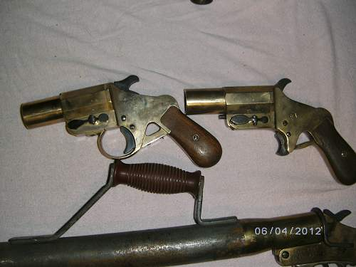 need help with these flare guns