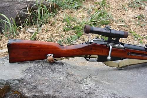 1937 Izhevsk M91/30 Sniper Repro Arrives