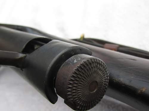 Arisaka type 38 rifle............... I believe