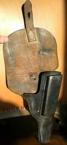 Pistol Holster, German? WW2?