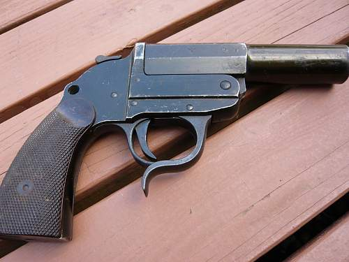 1938 flare pistol for opinions please
