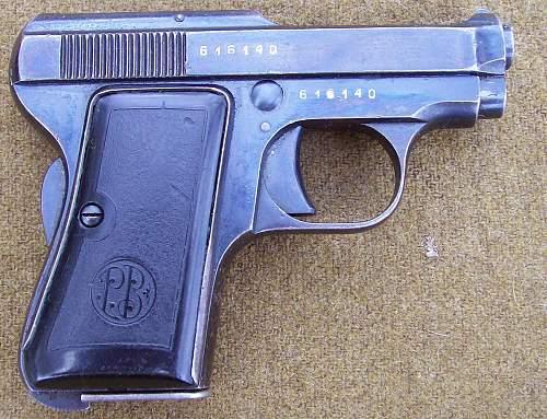 Beretta 418 Pistol