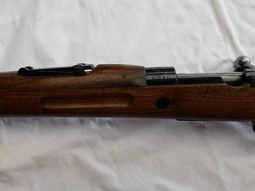 Spanish M43 Mauser rifle