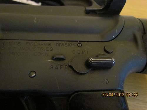 M16A1 Rifle
