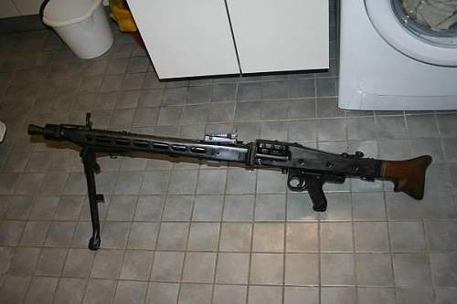 Deactivated MG42