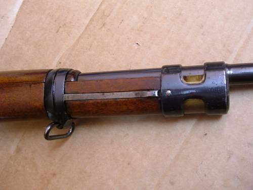 Looking for Mauser bbl. Band