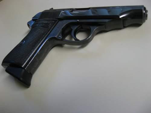 1934 walther Polizei Pistole