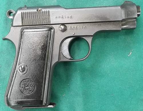 Beretta 1935 7.65mm 1944 4UT