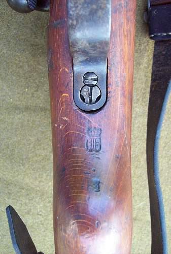 Erfurt 1918 KAR 98a