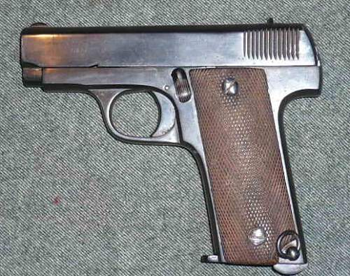 Paramount 7.65mm Pistol (RUBY) Type