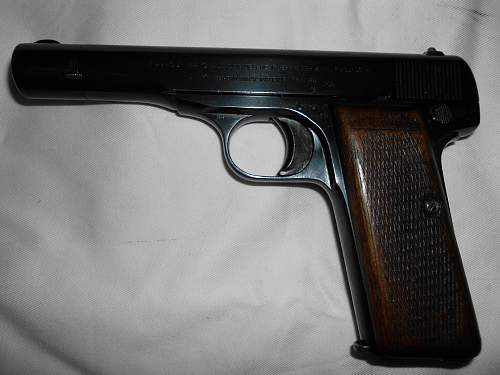 FN Browning M1910/22 7.65mm Nazi marked