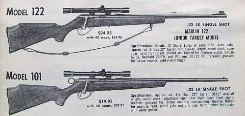 1960's Marlin .22