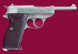 WWII Walther PP/PPK 7.65 stainless