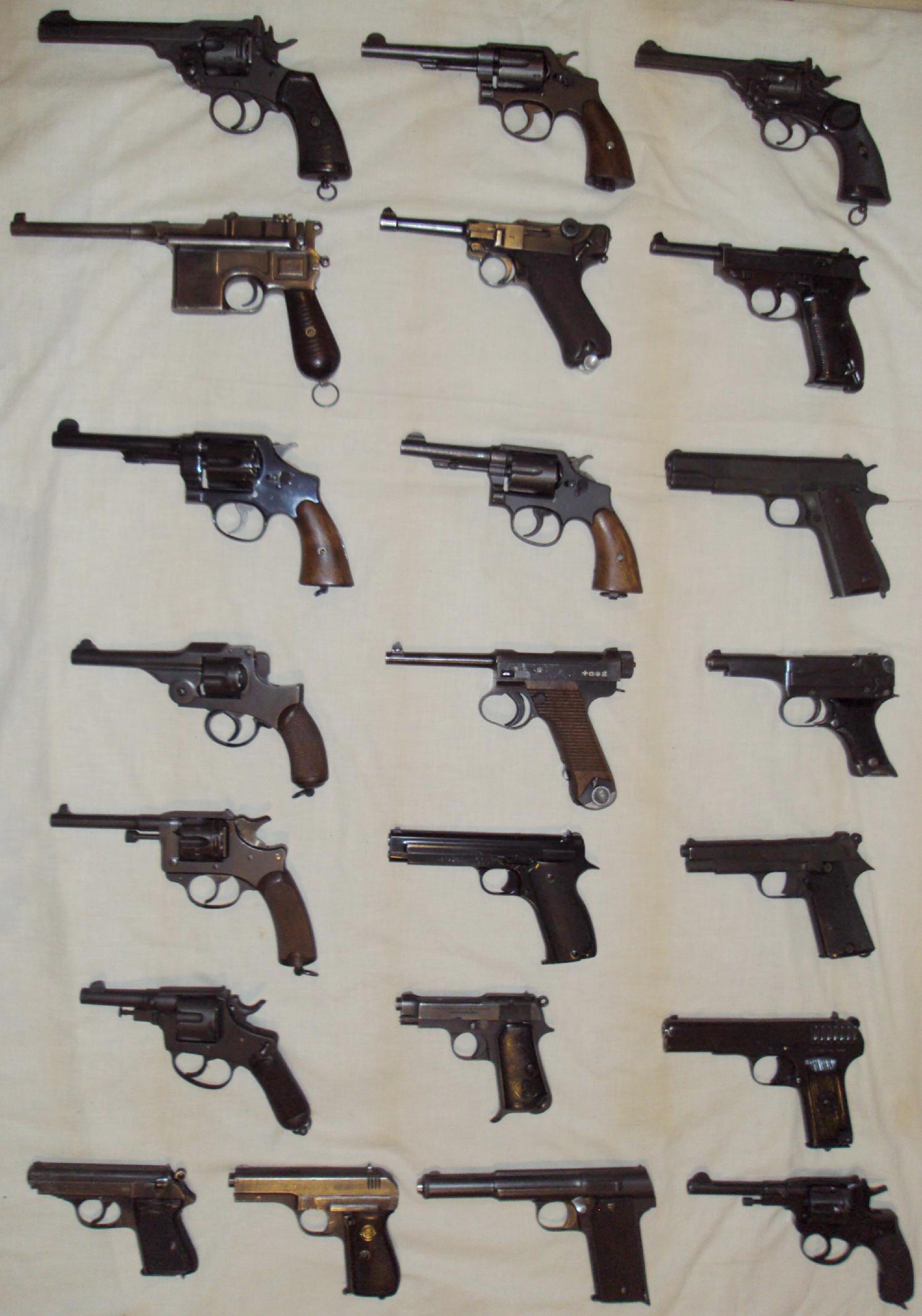Pistol  Revolver Thread