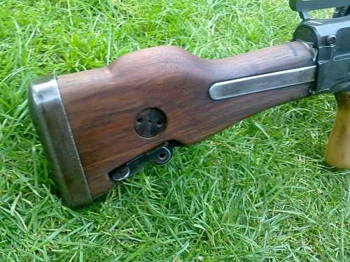 Bren Gun MK1 stock/butt retro fit.