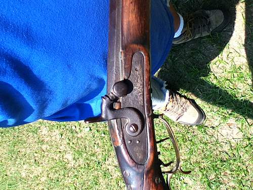 Can someone I.D. this rifle/musket?