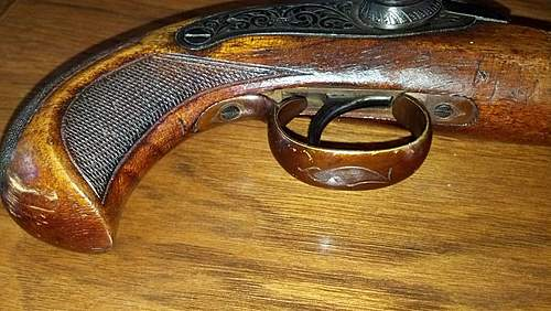 Made in Spain Pistol, 1800's? Did i score with this?