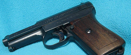 Oddity about Mauser 1914