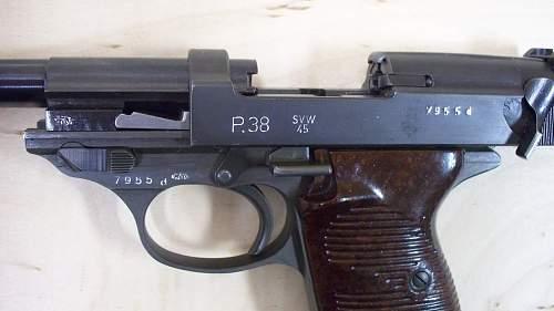 Pride of my P.38s:SVW45 Dual Tone
