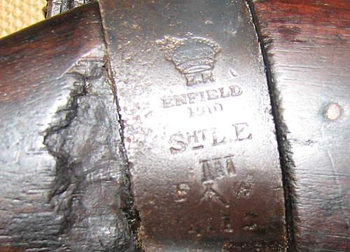 WW1 Enfield SMLE Mk111