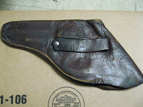 European holster for small revolver?