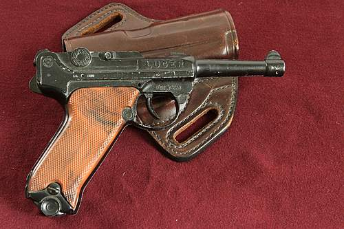 A couple of old pistols.