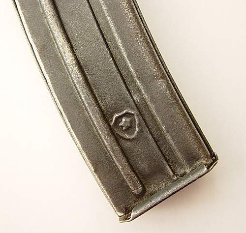 New addition: early PPSh41 stick magazine