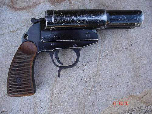 Doppelnamen Signal Pistole Walther