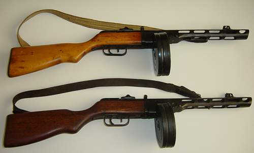 Click image for larger version.  Name:PPSh41's..jpg Views:678 Size:76.8 KB ID:3959