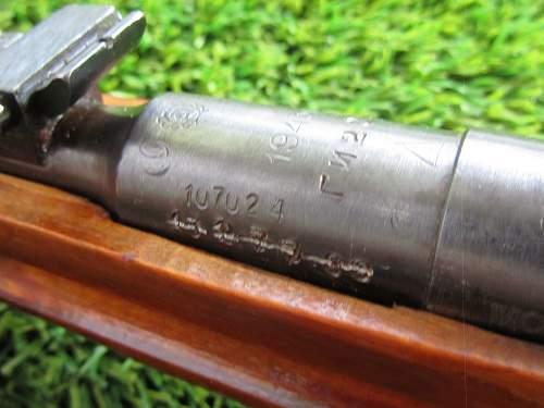 Mosin M91/30 PU Sniper Rifle
