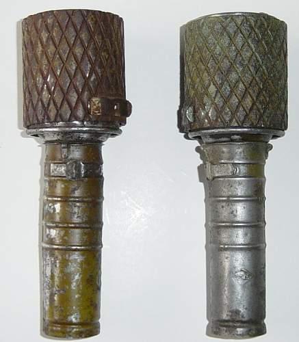 Click image for larger version.  Name:Soviet RGD 33 Grenades..JPG Views:5074 Size:83.1 KB ID:3991