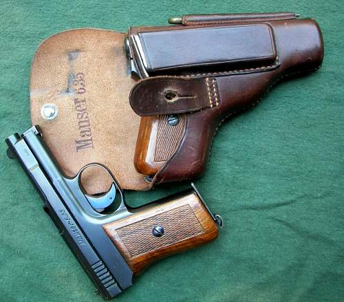 What holster for a commercial Mauser M1910
