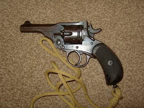 Webley .455/476 Mk111 pistol