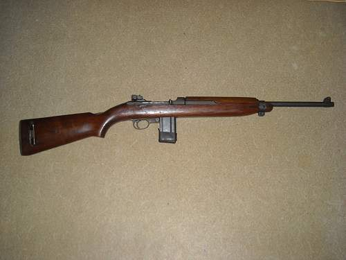 Need Information On An M1 Carbine
