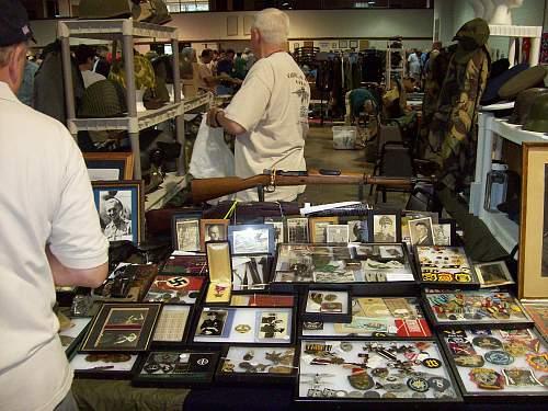 Raleigh Gun and Militaria Show June 6, 2009