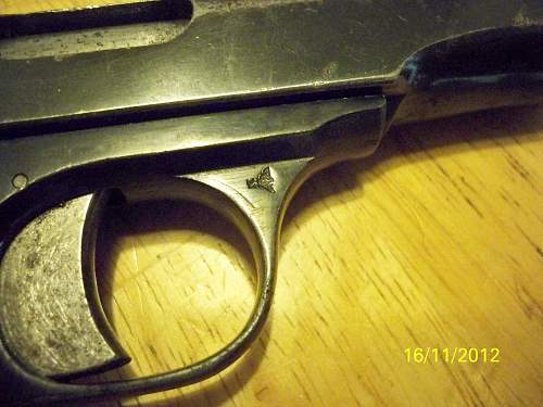 walther model 4 first variant