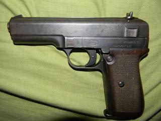 Experimental Mauser Pistol Model N (prototypes Nickl Josef)