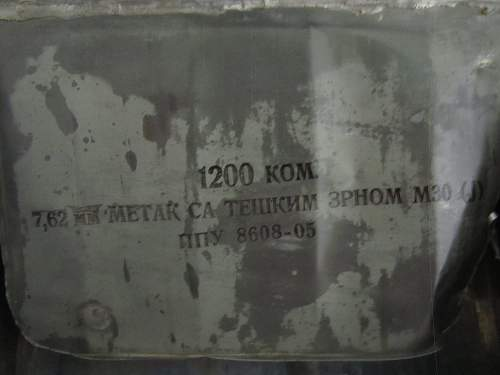 Another interesting 7.62 Surplus Crate. Help identify!