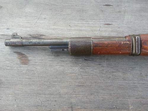 WILHELM & GUSTAF matched numbers,44 dated  K98 Sniper rifle