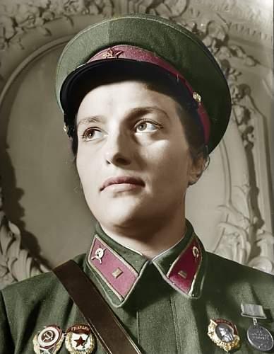 Female Soviet Snipers
