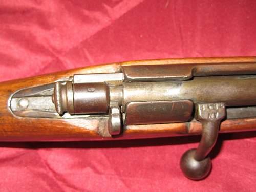 Italian WWI M1891 Carcano TS