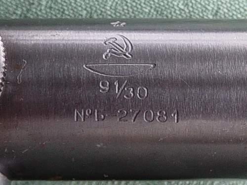 Soviet PU sniper scopes