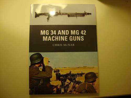 MG34 and MG42 Osprey book
