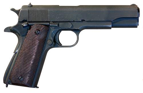 Click image for larger version.  Name:M1911_A1_pistol.jpg Views:42218 Size:273.3 KB ID:435623
