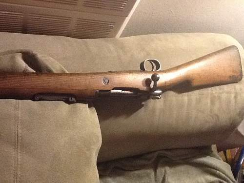 WWI  Mauser? If not then what?