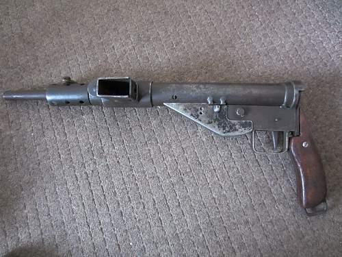 My Sten gun