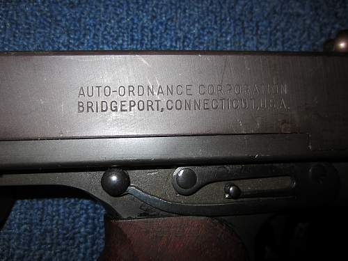 My 1928A1 Thompson