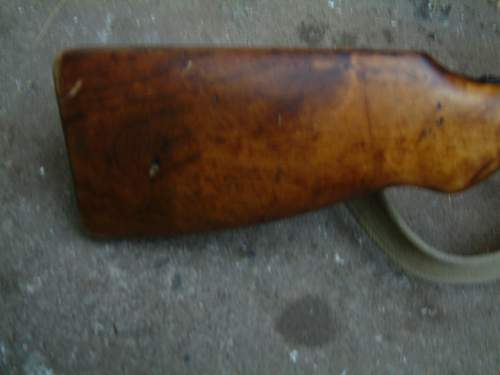 1941 Finnish DP28 with Suomi-style stock