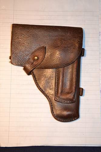 Unknown holster, possibly German?