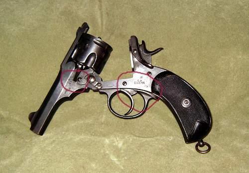 Elderly revolver